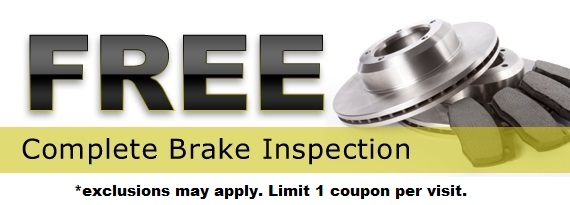 Brake Repair Special in Aberdeen Proving Ground, MD and Baltimore, MD