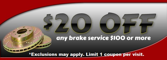 Brake Repair Coupon in Baltimore, MD & Aberdeen Proving Ground, MD