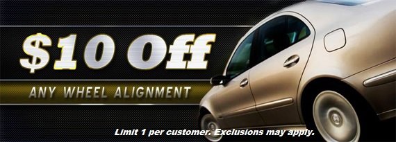 Wheel Alignment Coupon in Baltimore, MD & Aberdeen Proving Ground, MD